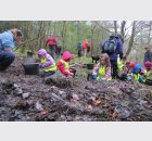 Arrochar Primary busy digging