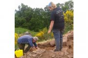 Cathy, Kay Craig excavations