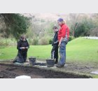 digging at the Glebe Tarbet