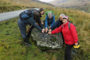 knocking stone in Glen Douglas