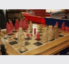 replica Lewis chess set by P6-7