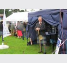 Sir Malcolm Colquhoun visits the Hidden Heritage tent at the gala