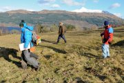 walkover survey in view of Ben Lomond